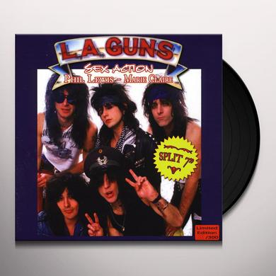 Phil L.A. Guns / Lewis SEX ACTION / MARIE CLAIRE Vinyl Record