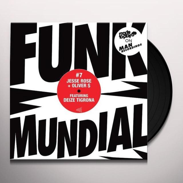 Jesse / Oliver $ Rose FUNK MUNDIAL #7: TOCA PRA MIM TA DO MEDO DO MIM Vinyl Record