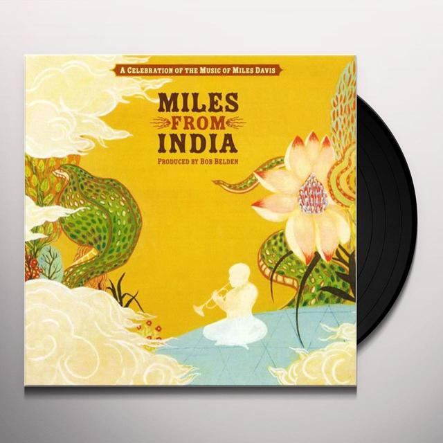 MILES FROM INDIA (W/BOOK)   (BOX) Vinyl Record - Limited Edition, 180 Gram Pressing, Deluxe Edition