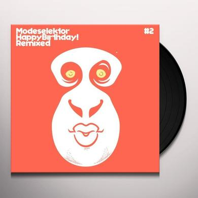 Modeselektor HAPPY BIRTHDAY REMIXED #2 Vinyl Record