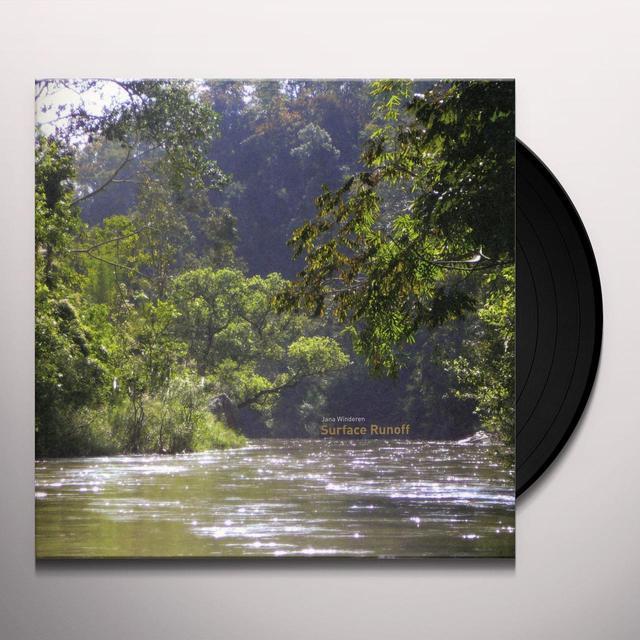 Jana Winderen SURFACE RUNOFF (EP) Vinyl Record