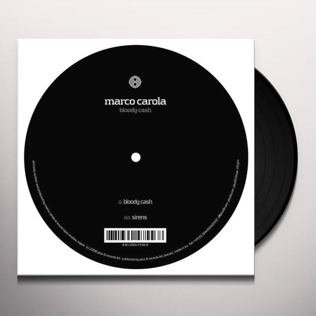Marco Carola BLOODY CASH Vinyl Record