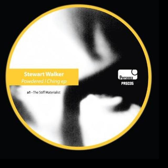Stewart Walker POWDERED I CHING Vinyl Record