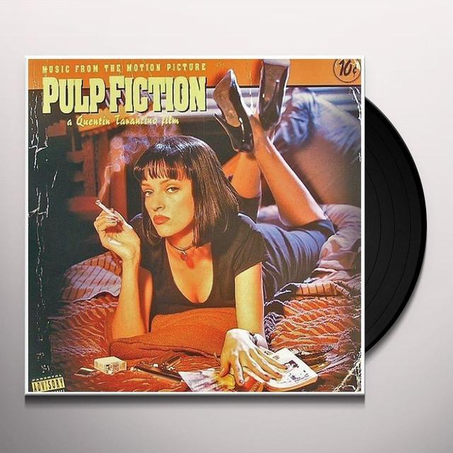 Pulp Fiction / O.S.T. (Fra) (Reis) PULP FICTION / O.S.T.  (FRA) Vinyl Record - Reissue