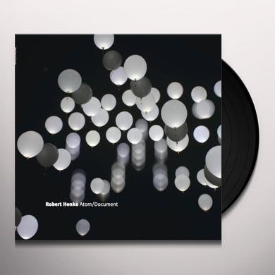 Robert Henke ATOM / DOCUMENT Vinyl Record