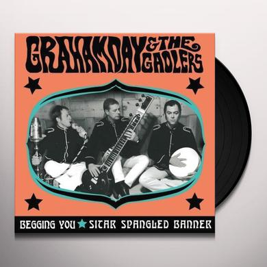 Graham Day & The Gaolers BEGGING YOU / SITAR SPANGLED BANNER Vinyl Record