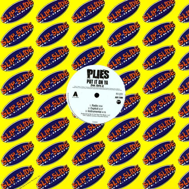 Plies PUT IT ON YA Vinyl Record
