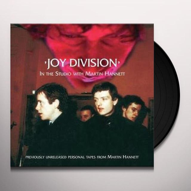 Joy Division IN THE STUDIO WITH MARTIN HANNETT Vinyl Record - 180 Gram Pressing