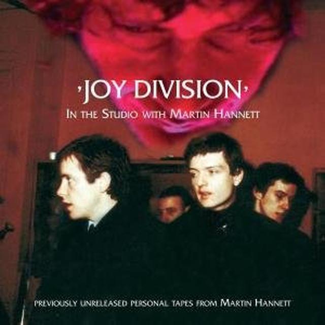Joy Division IN THE STUDIO WITH MARTIN HANNETT Vinyl Record - 180 Gram Pressing