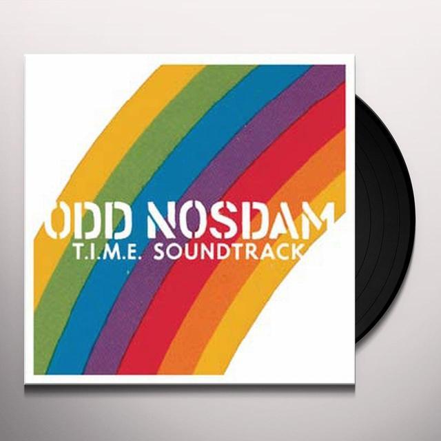 Odd Nosdam T.I.M.E SOUNDTRACK Vinyl Record