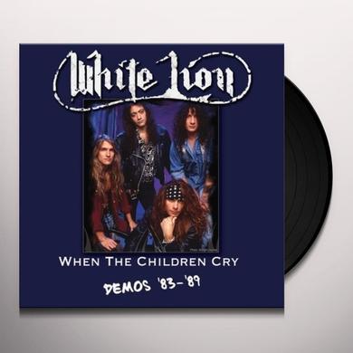 White Lion WHEN THE CHILDREN: DEMOS 83-89 Vinyl Record