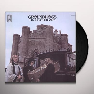 The Groundhogs BLUES OBITUARY Vinyl Record