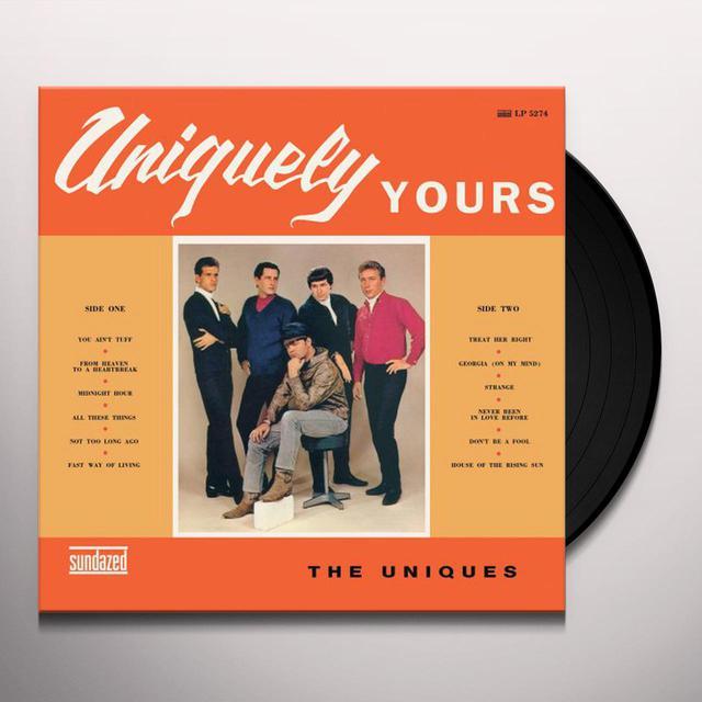 Uniques UNIQUELY YOURS Vinyl Record
