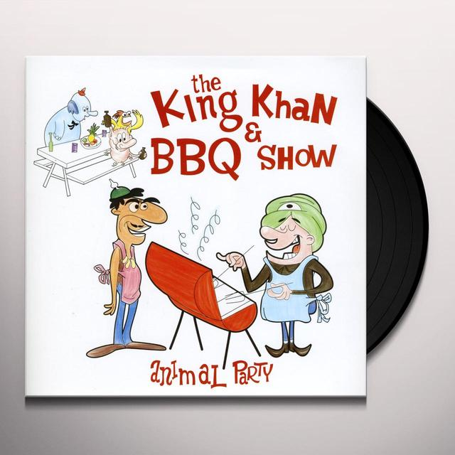 The King Khan & BBQ Show ANIMAL PARTY Vinyl Record