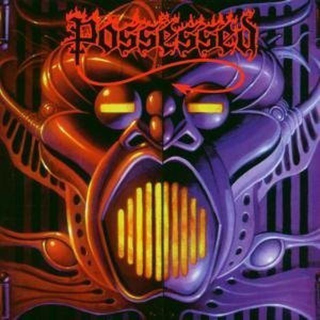 Possessed BEYOND THE GATES / EYES OF HORROR Vinyl Record