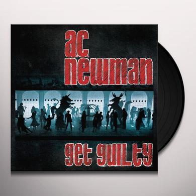 Ac Newman GET GUILTY Vinyl Record