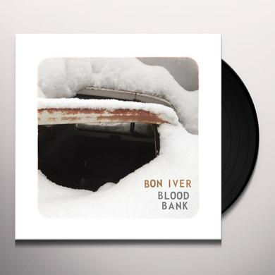 Bon Iver BLOOD BANK Vinyl Record