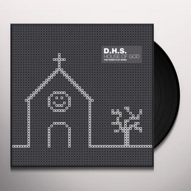 Dhs HOUSE OF GOD (THE POKER FLAT MIXES) (EP) Vinyl Record