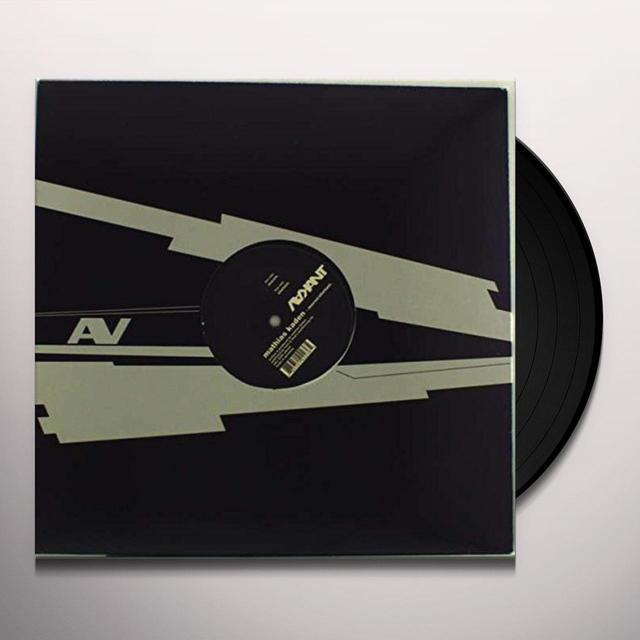 Mathias Kaden MORON (EP) Vinyl Record