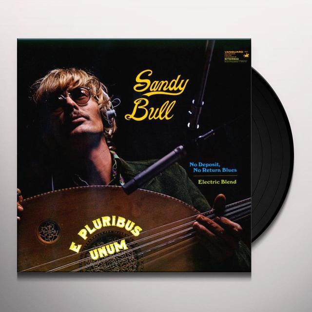 Sandy Bull E PLURIBUS UNUM Vinyl Record - 180 Gram Pressing
