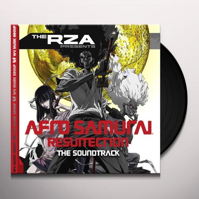 RZA PRESENTS: AFRO SAMURAI THE RESURRECTION / OST Vinyl Record