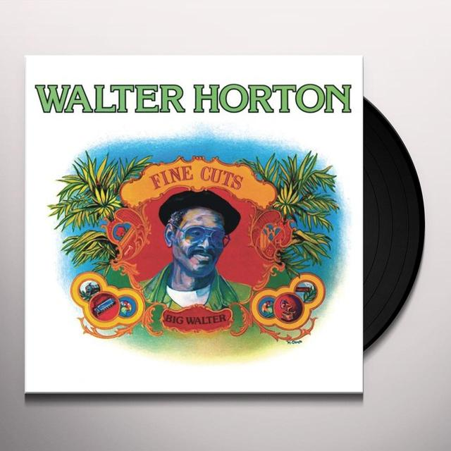 Walter Horton FINE CUTS Vinyl Record - 180 Gram Pressing, Remastered