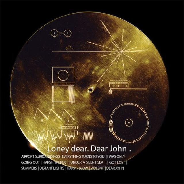 Loney Dear DEAR JOHN Vinyl Record