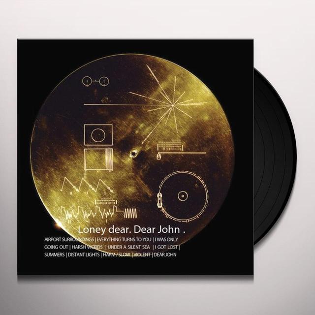 Loney Dear DEAR JOHN Vinyl Record - 180 Gram Pressing