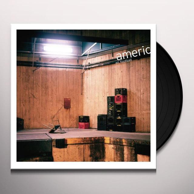 AMERICAN FOOTBALL Vinyl Record - 180 Gram Pressing, Digital Download Included