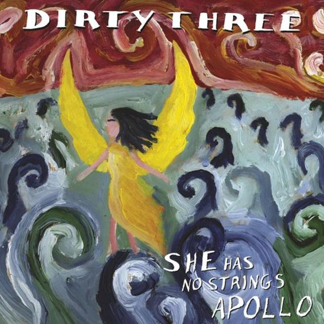 Dirty Three SHE HAS NO STRINGS APOLLO Vinyl Record - MP3 Download Included, Reissue