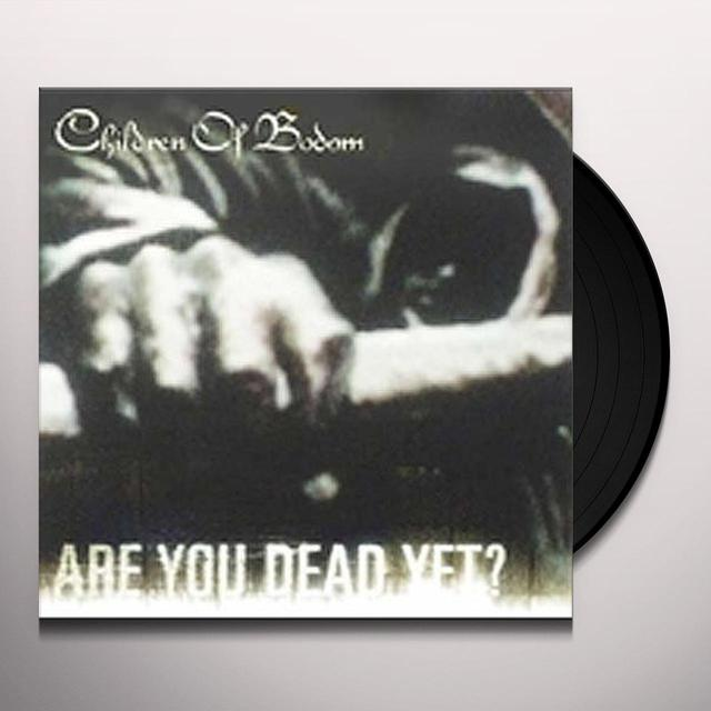 Children Of Bodom ARE YOU DEAD YET Vinyl Record - Limited Edition, Picture Disc