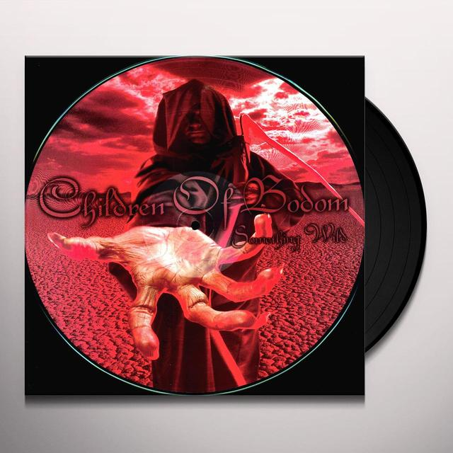 Children Of Bodom SOMETHING WILD Vinyl Record - Limited Edition, Picture Disc