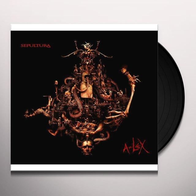 Sepultura A-LEX Vinyl Record