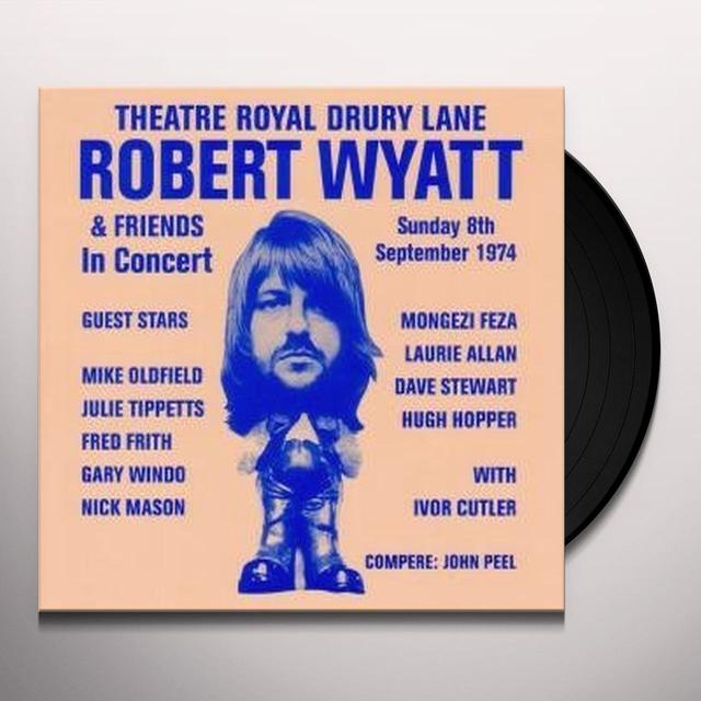 Robert Wyatt THEATRE ROYAL DRURY LANE Vinyl Record - UK Import