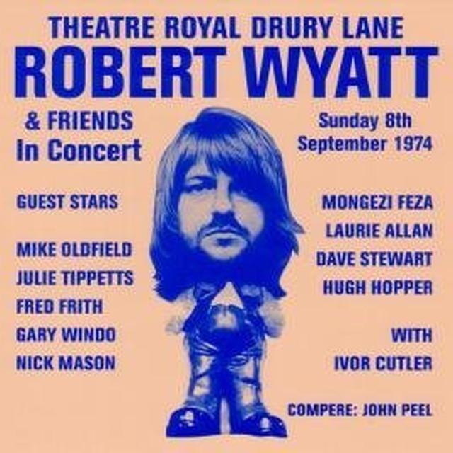 Robert Wyatt THEATRE ROYAL DRURY LANE Vinyl Record