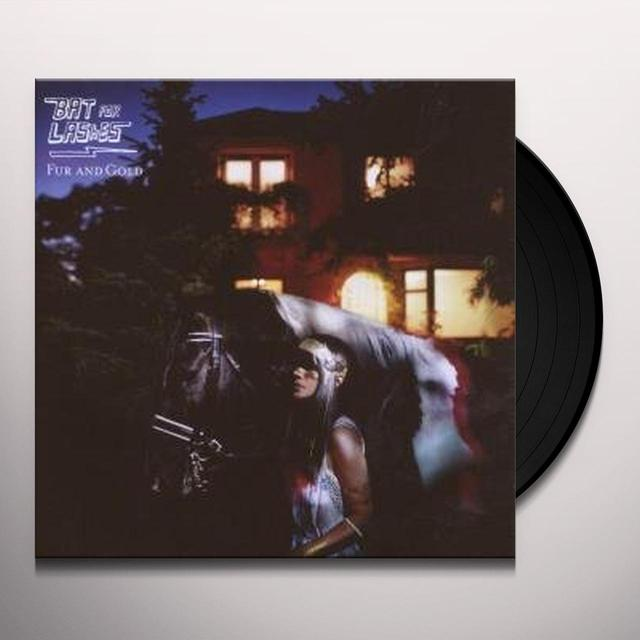 Bat For Lashes FUR & GOLD Vinyl Record - 180 Gram Pressing, Reissue
