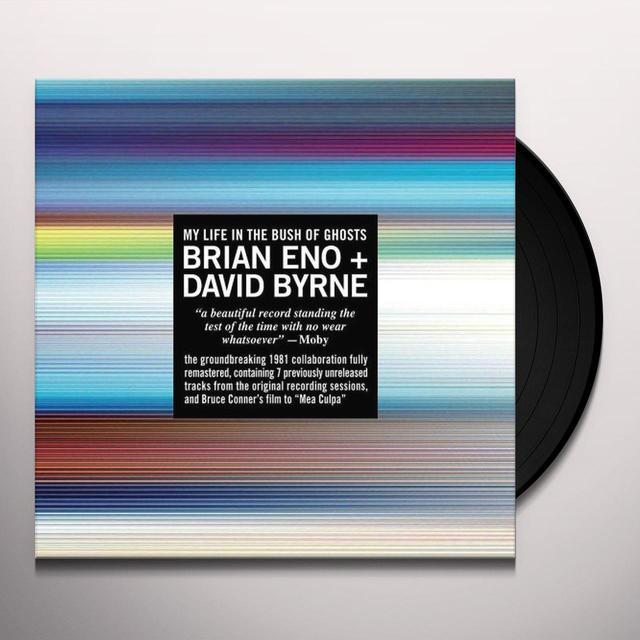 Brian Eno / David Byrne MY LIFE IN THE BUSH OF GHOSTS Vinyl Record - 180 Gram Pressing, Remastered