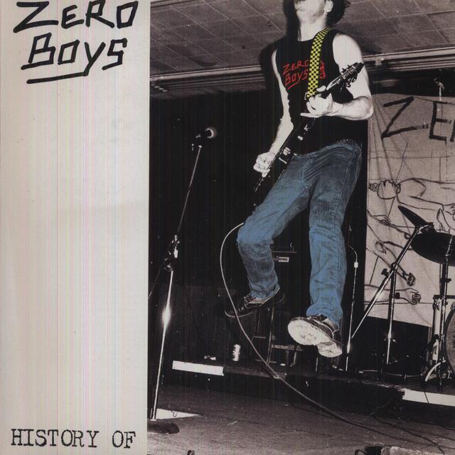 Zero Boys HISTORY OF Vinyl Record