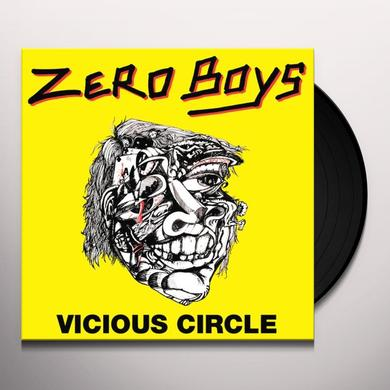 Zero Boys VICIOUS CIRCLE Vinyl Record