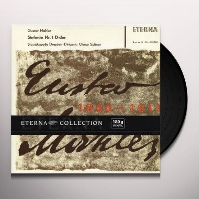 Mahler SYMPHONY NO. 1 Vinyl Record
