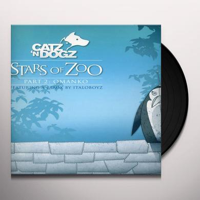 Catz 'n Dogz STARS OF ZOO PART 2: OMANKO (EP) Vinyl Record