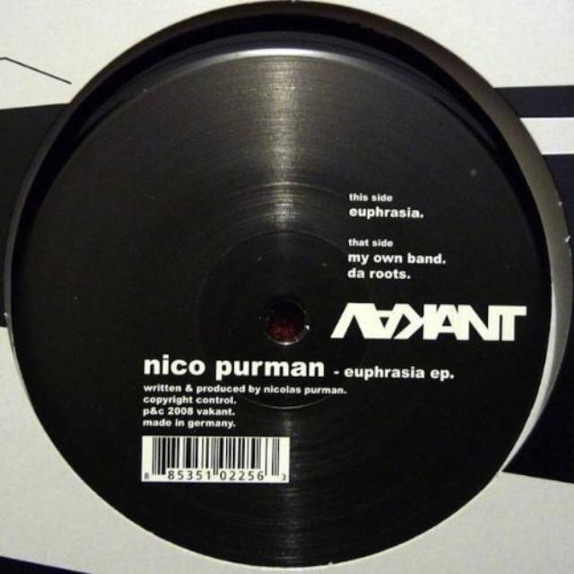 Nico Purman EUPHRASIA Vinyl Record