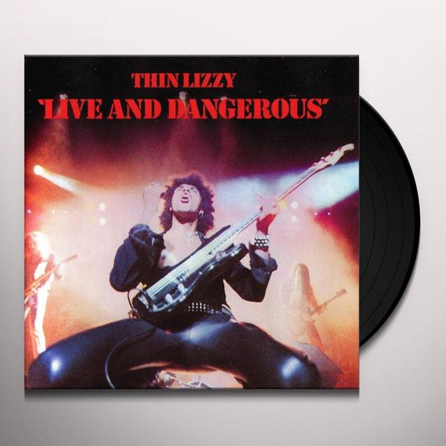 Thin Lizzy LIVE & DANGEROUS Vinyl Record - 180 Gram Pressing, Deluxe Edition