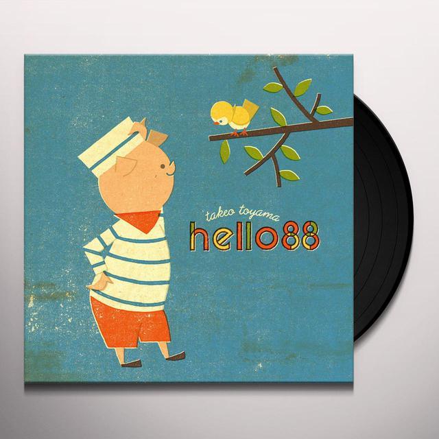 Takeo Toyama HELLO 88 Vinyl Record