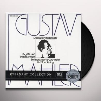 Mahler DAS LIED VON DER ERDE Vinyl Record