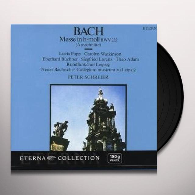 J.S. Bach MASS IN B MINOR Vinyl Record