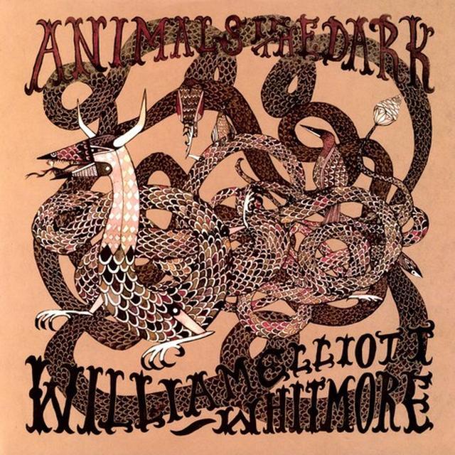 William Elliott Whitmore ANIMALS IN THE DARK Vinyl Record