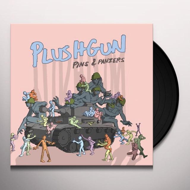 Plushgun PINS & PANZERS Vinyl Record