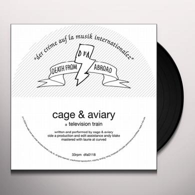 Cage & Aviary TELEVISION TRAIN Vinyl Record