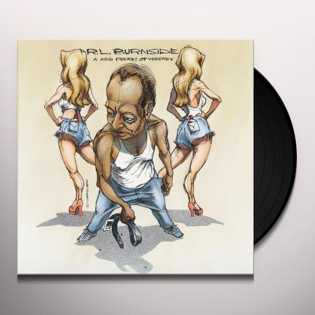 R.L. Burnside ASS POCKET OF WHISKEY Vinyl Record